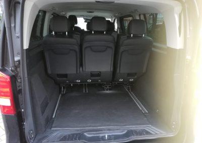 Mercedes Benz V Class boot