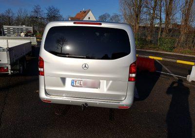 Mercedes Benz V class back