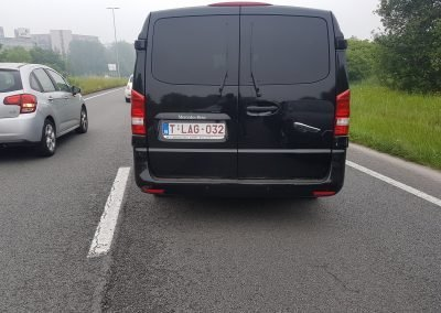 Mercedes Benz Vito tourer back