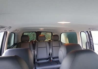 Mercedes Benz Vito tourer interior