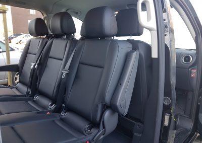 Mercedes V class facing seats