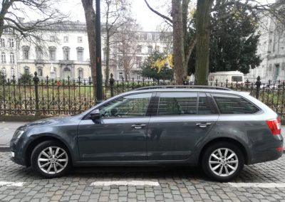 Skoda Octavia side view
